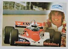 "Vintage Indy Car Rick Mears Rookie Year Postcard 5"" x 7"" MINT Unused"