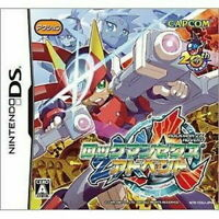 USED Nintendo DS Rockman ZX Advent game soft