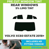 Pre corte Tintado Coche Auto Film Volvo XC60 2008-2017 Kit Trasero