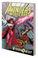 Avengers West Coast Vision Quest TPB (2015) Marvel - New Printing, NM (New)