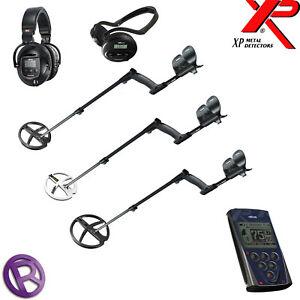 XP DEUS with X35 or HF coil, headphones, remote/no remote - Choose Option