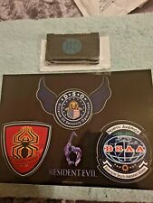 Resident Evil 6 Game CHRIS Collector Tablet Case + Stickers Brand New Xbox/Ps3