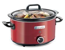 Cocina LENTA CROCK POT Rojo 3.5 L