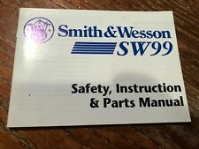 Smith and Wesson Factory Sw99 Manual dated 1999