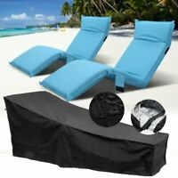 Waterproof Sun Lounge Chair Dust Oxford Cover Outdoor Garden Patio Furniture YV