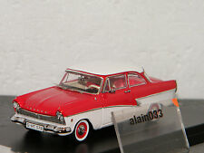 FORD TAUNUS 17M 1957 Red/White PremiumX 1/43 Ref PRD387