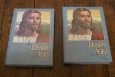 Desire of Ages Ellen G. White 2 vols beautiful art NEW
