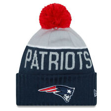 New England Patriots 2015 TOM BRADY New Era Sport Knit Winter Hat NAVY-GRAY