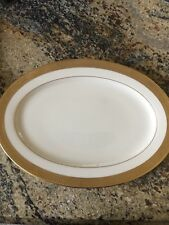 """NEW WITH TAGS LENOX WESTCHESTER  LARGE 16"""" OVAL PLATTER"""