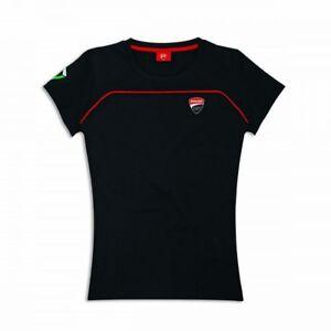 Ducati Corse Speed Ladies short Sleeve T-Shirt Lady Black New