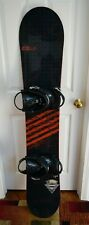 SIMS ABSOLUTE SNOWBOARD SIZE 163 CM WITH NEW XL UNION BINDINGS