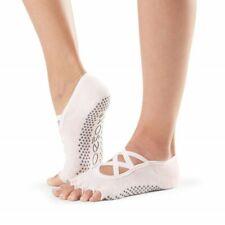 NWT ToeSox Elle Half Toe Grip Ballet Pink Size S Organic Cotton Women Shoe 6-8