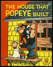 """1960 Popeye """"The House That Popeye Built"""" King Features Authorized Edition"""