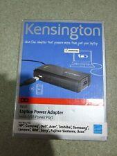 Kensington K38078EU Laptop Wall Charger Ultra Thin Power Adapter With USB Port