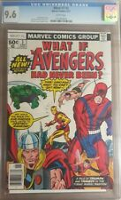 1977 What If? 3 CGC 9.6. Avengers Had Never Been RARE Thor Iron-Man Hulk Ant-Man