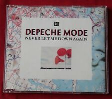 Depeche Mode, never let me down again, Maxi CD France