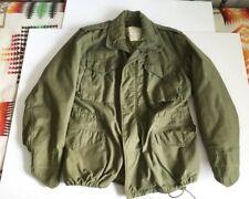 Vtg 1970 John Ownbey Cold Weather M-65 Field Jacket Liner Dsa-100 Medium Regular