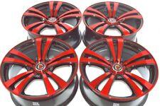 18 red Wheels Rims ES350 Camry Avalon Sonata K900 Accord HRV Civic 5x100 5x114.3