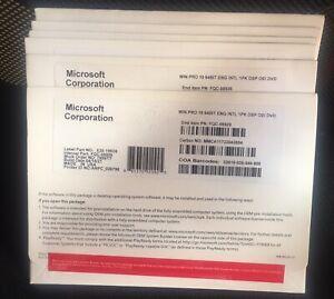 10 units Windows 10 pro workstation edition (FQC-08929) lifetime activation