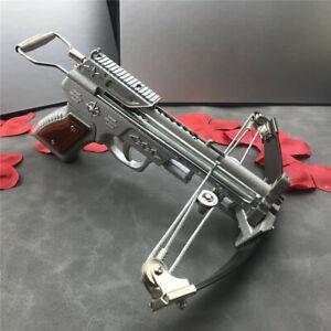 Outdoor Mini Cross Archery Hunting Gun Pistol Stainless Steel Crossbow Arrows