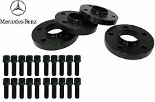 Mercedes Benz 12 mm W204 Wheels Spacer Kit for OEM Wheels Black Ball Seat