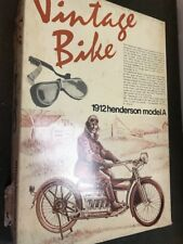 aoshima 1/16 AS0002 vintage bike henderson model A 1912 kit contents sealed