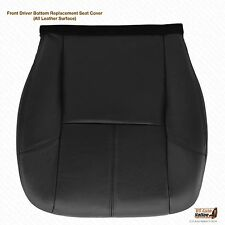2011 2012 GMC Yukon SLT SLE Driver Side Bottom Leather Seat Cover Color Black