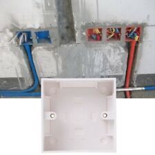 86 X 86mm Waterproof Wall Plate Junction Box Back Plate Box Outer Side Back Box