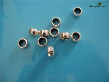10 PCs Tibetan Carved Silver Metal Beads Set - Dreadlock Beads dread beads A15