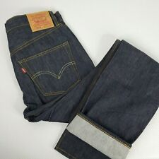 Vintage Collection Levis 501 XX 32 x 36 Blue Jeans Big E Made USA Selvedge