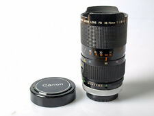 Canon FD 35-70mm f/2.8-3.5 Zoom lens *ISSUES PLEASE READ* AS-IS