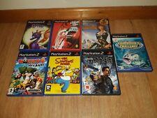 Playstation 2 Paquete De Juegos 7 PS2-la Leyenda de Spyro, piratas, filtro de sifón