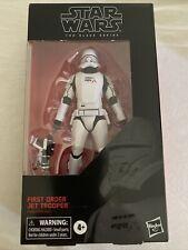 Star Wars First Order Jet Trooper Black Series 6 Inch Action Figure