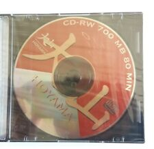 1X CD-RW 700 MB 80 MIN CON SLIM BOX disco ottico CD