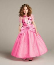 Girls Size 12 Hello Kitty Gown Princess Party Dress Costume Chasing Fireflies