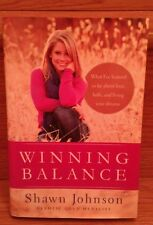 Winning Balance AUTOGRAPHED HC Shawn Johnson Olympics Gymnastics Nancy French