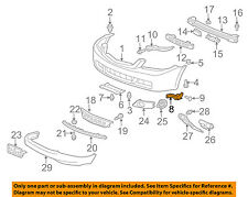Acura HONDA OEM 04-08 TSX Front Bumper-Spacer Support Bracket Right 71193SEA003