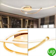 Luxus LED 30 Watt Decken Lampe Wohnraum Leuchte Gold Strahler Living-XXL