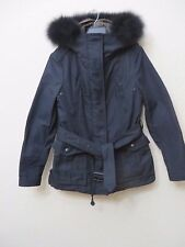 Burberry Brit Cloverdale Parka BLACK  Coat Jacket w/Warmer Size 10 EU40 MSRP S 1
