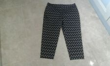 Ladies MARKS AND SPENCER Slim Capri Trousers ,size 16 UK