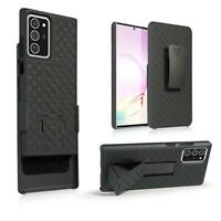 Samsung Galaxy Note 20 Shell Holster Combo Case with Kick-Stand & Belt Clip