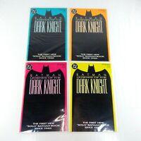 Batman: Legends of the Dark knight #1 1989  4 Issue SET