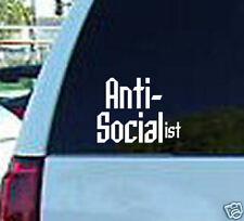 Anti Socialist GOP American Vinyl Window Sticker Decal