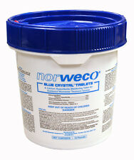 NORWECO Blue Crystal Chlorine Tablets FOUR - 10# Pails Septic Chlorine Tablets