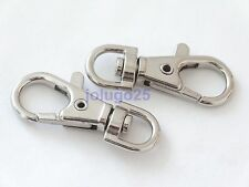 50 Metal Swivel Clasps Lobster Clasps Snap Clips 1.5 inch  K26-50