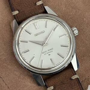 King Seiko 44KS 44-9990 Cal 44A Hand Winding Watch Unpolished & Serviced