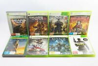 Microsoft XBOX 360 8 Game Shooter Bundle Lot All Good Complete Working Condition