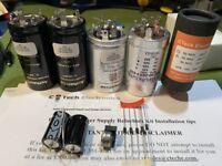 Deluxe Power Supply Refurb Kit For Harman Kardon Citation II Tube Amplifier