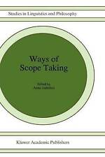 NEW Ways of Scope Taking (Studies in Linguistics and Philosophy)