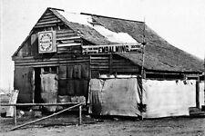 New 5x7 Civil War Photo: Embalming Barn in Fredericksburg, Virginia